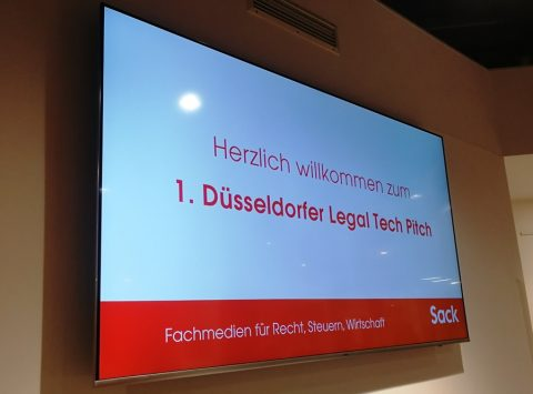 1. Düsseldorfer Legal Tech Pitch