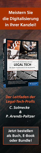 Banner Legal-Tech-Buch