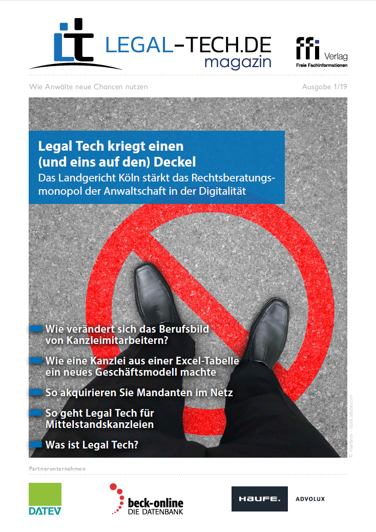 Legal Tech-Magazin 01/19