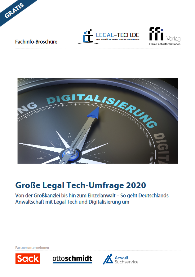 Legal Tech-Umfrage 2020