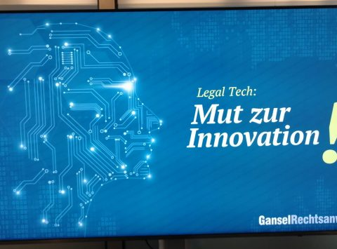Gansel Rechtsanwälte Legal Tech