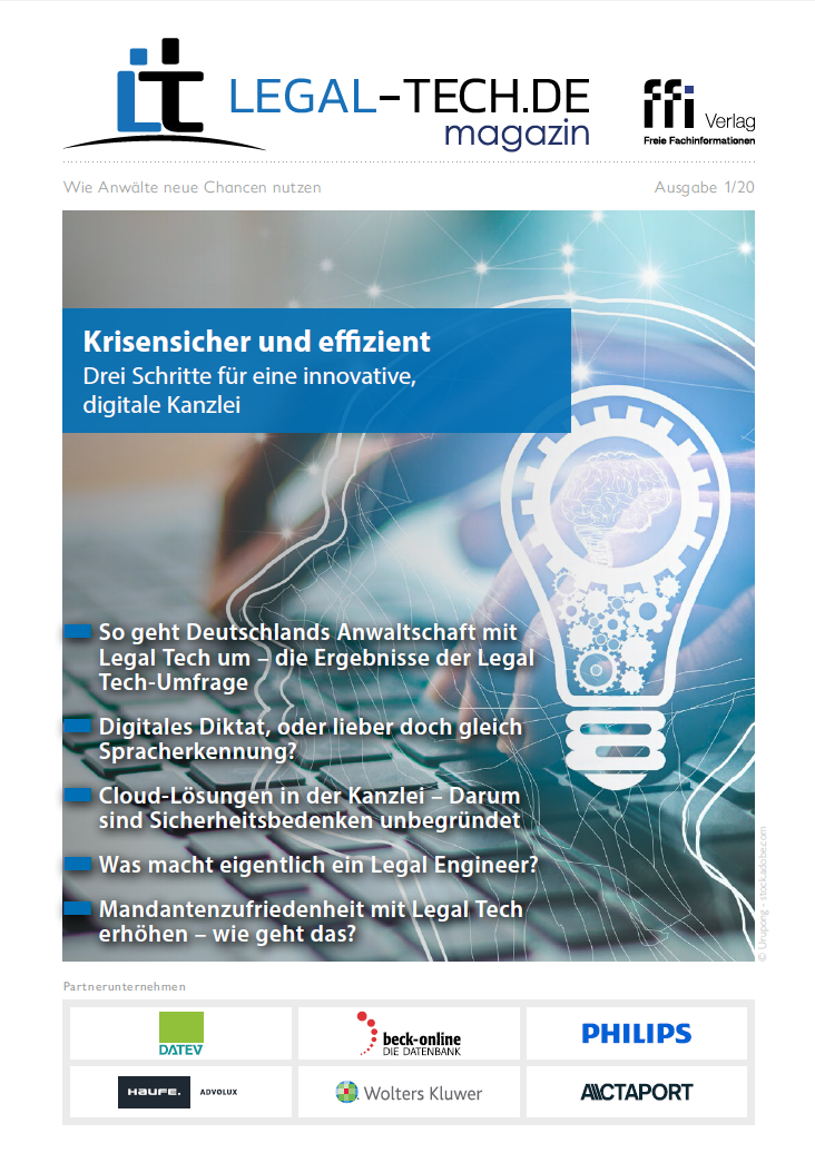 Legal Tech-Magazin 01/20