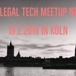 Impressionen des FFI-Verlags vom 2. Legal Tech-Meetup NRW