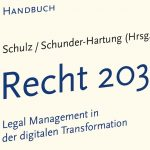 "Rezension des Buches ""Recht 2030: Legal Management in der digitalen Transformation"""