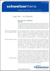 Schweitzer_Thema_Legal_Tech