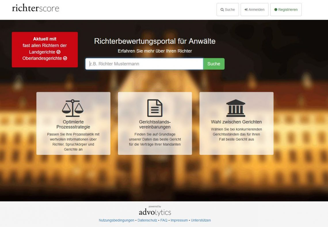 legal tech richterscore.de